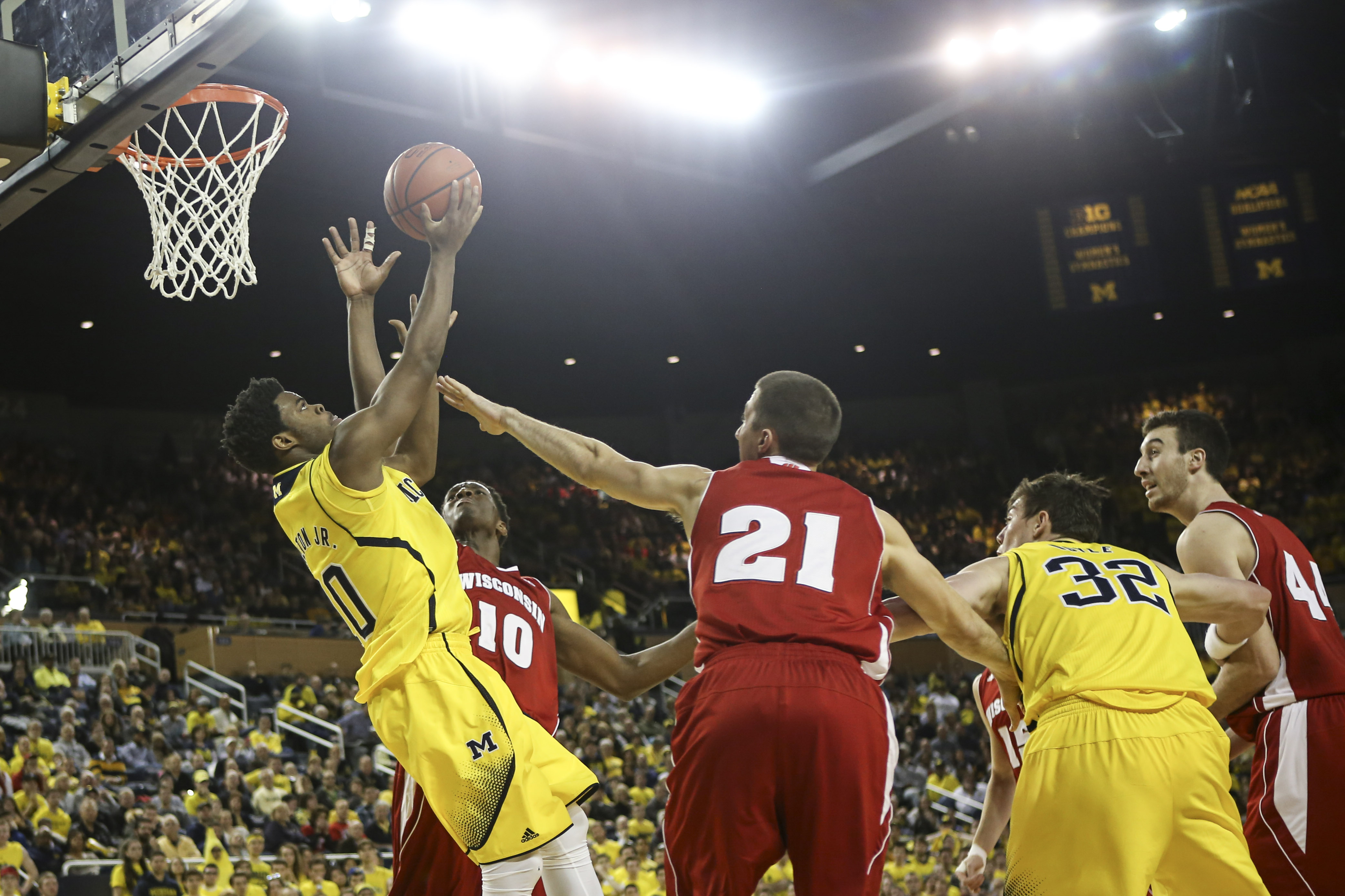 Wisconsin 69, Michigan 64 – #16