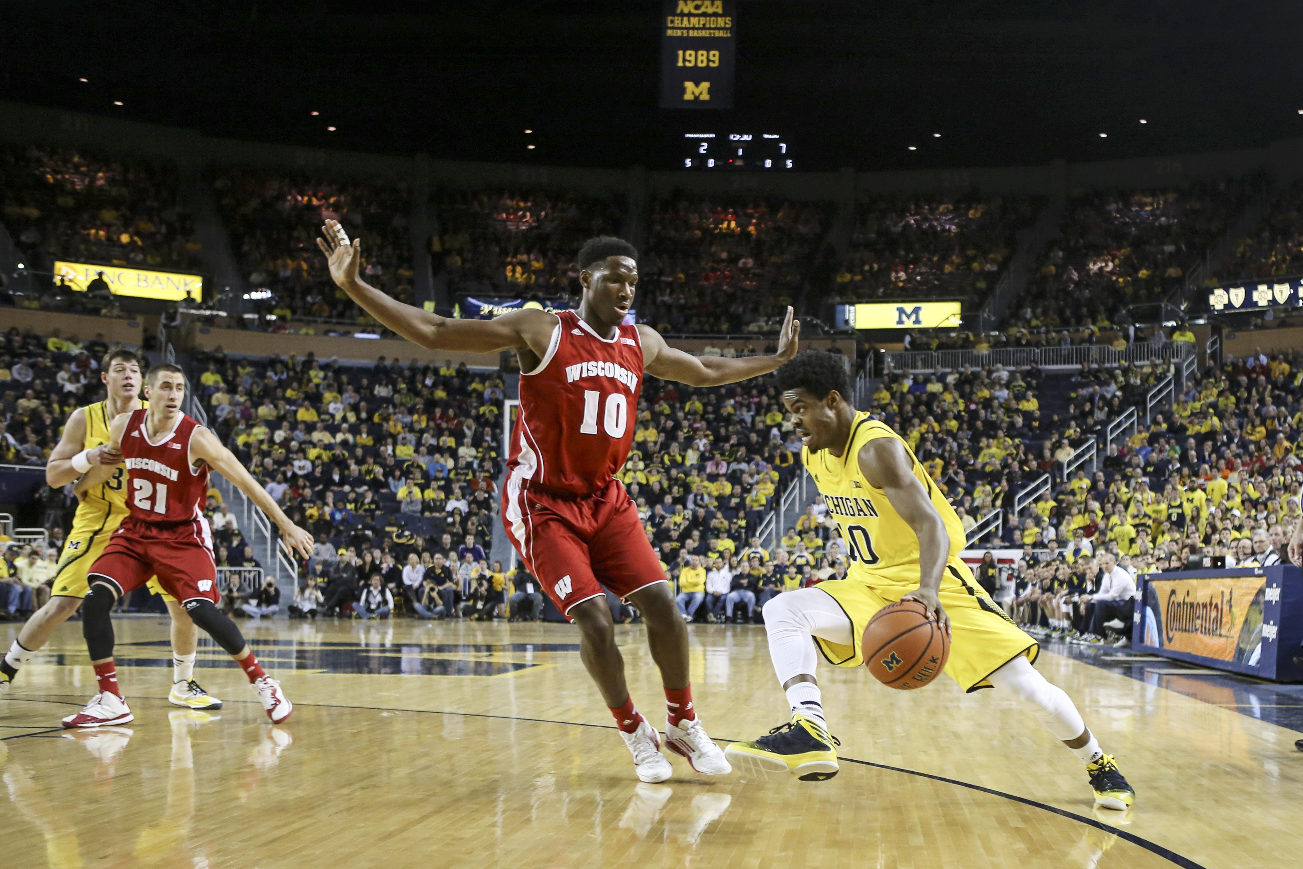 Wisconsin 69, Michigan 64 – #5