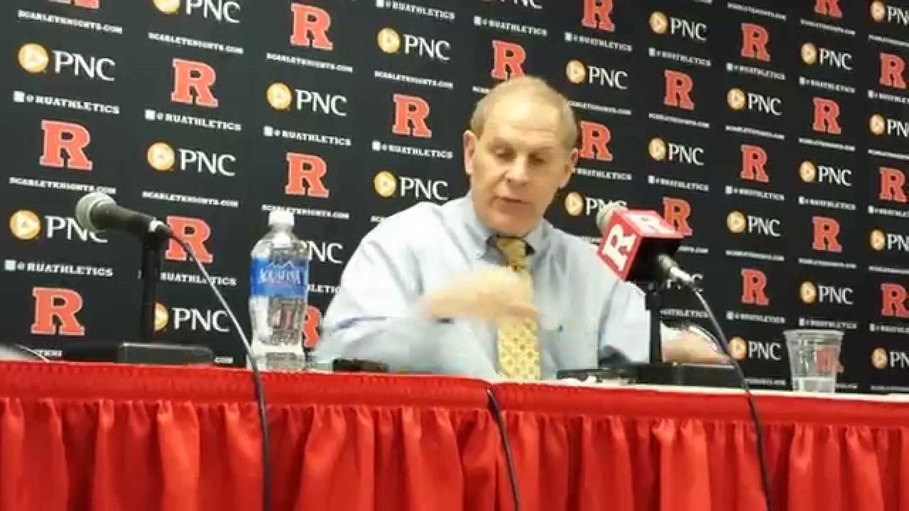 John Beilein Press Conference — 1/20/15 at Rutgers
