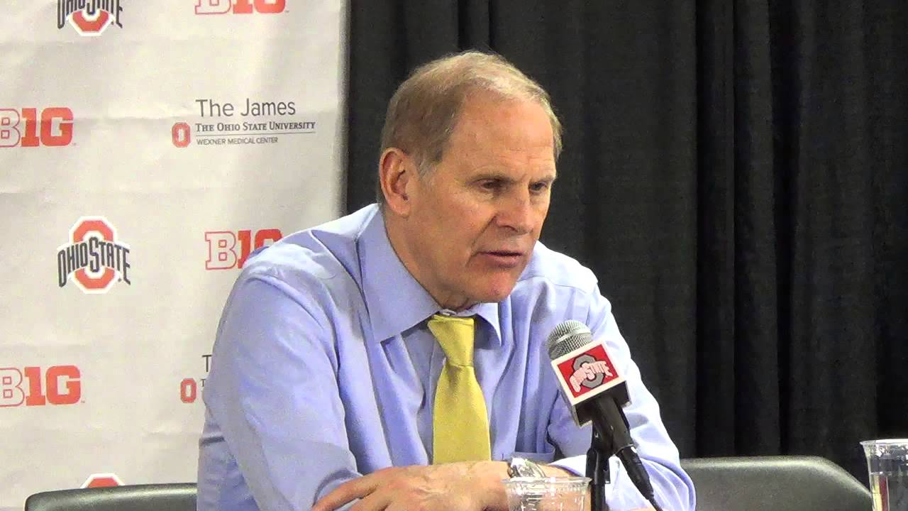 John Beilein discusses effort, foul trouble during loss to Ohio State