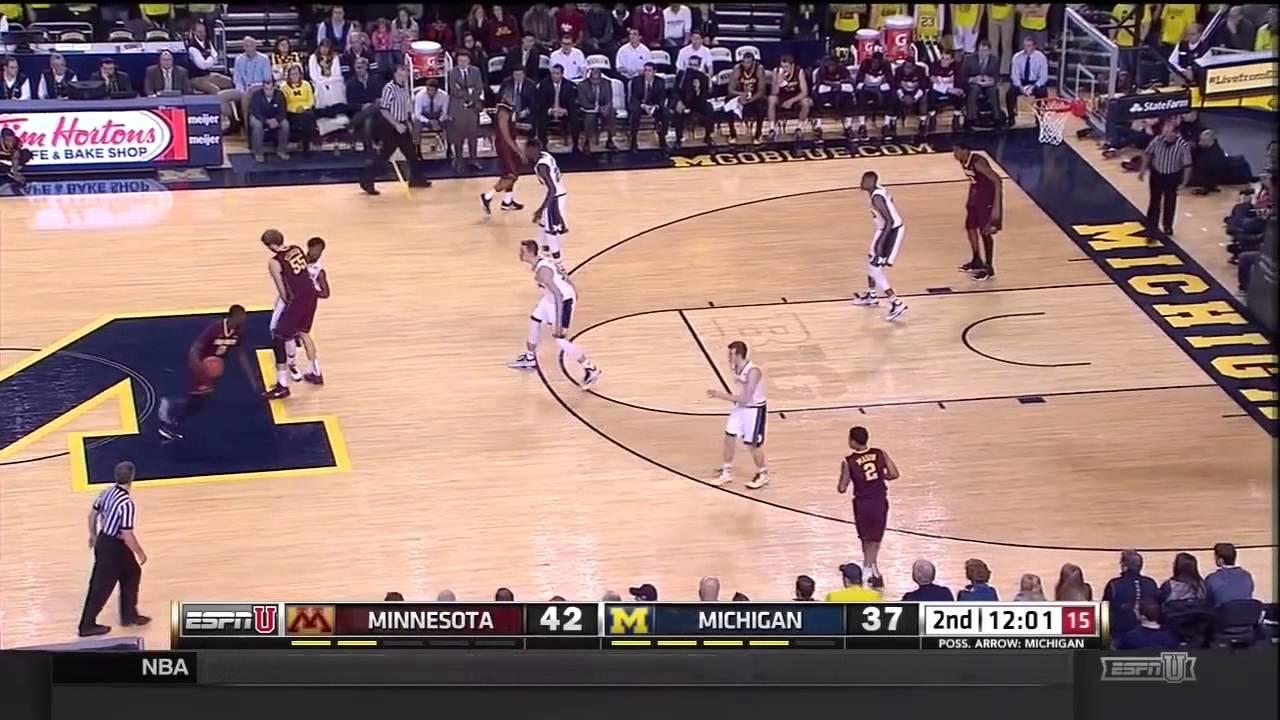 Five Key Plays – Minnesota at Michigan