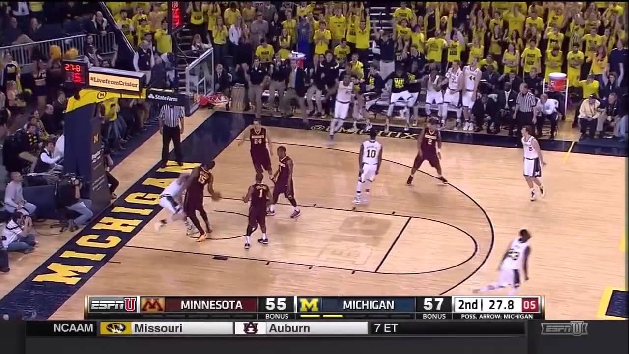 Game 16: Minnesota at Michigan Recap