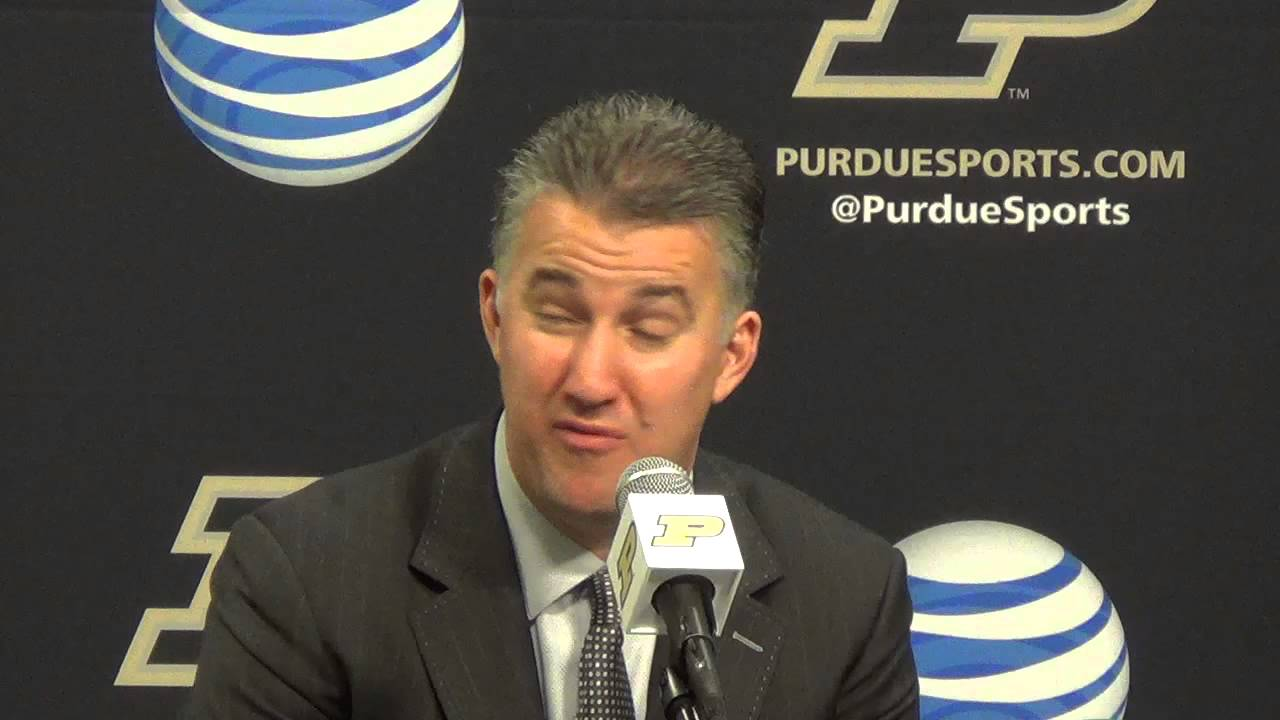 Matt Painter says Wolverines 'just didn't get into their rhythm' in loss