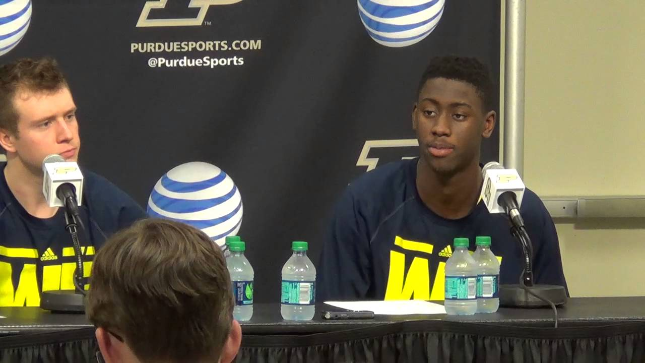 Derrick Walton, Spike Albrecht and Caris LeVert recap loss to Boilermakers