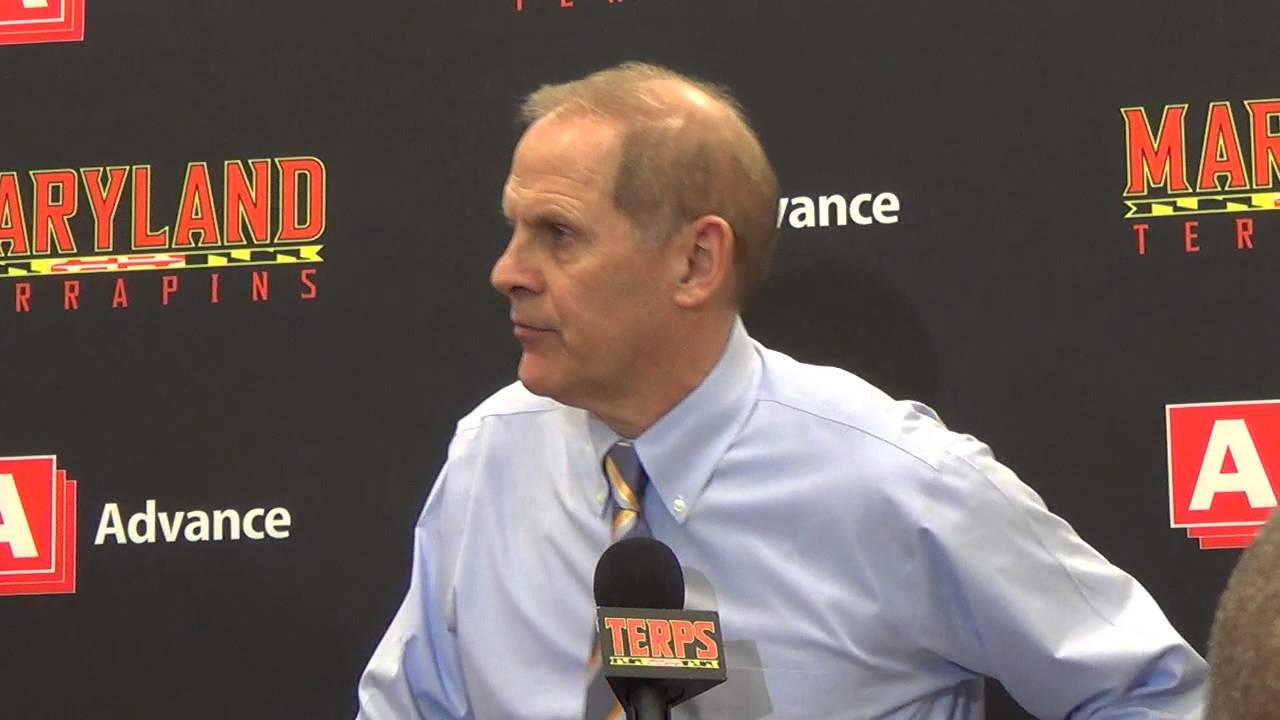 John Beilein recaps loss at Maryland