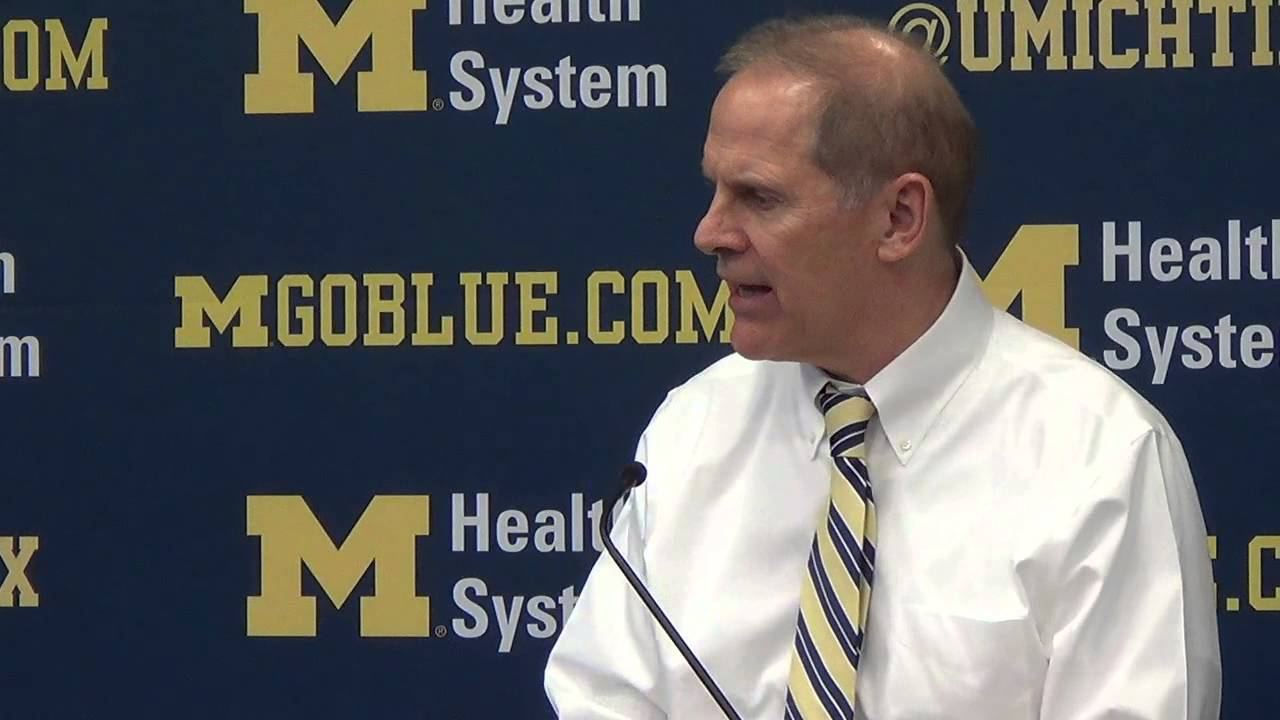 John Beilein recaps Michigan's upset win over Ohio State