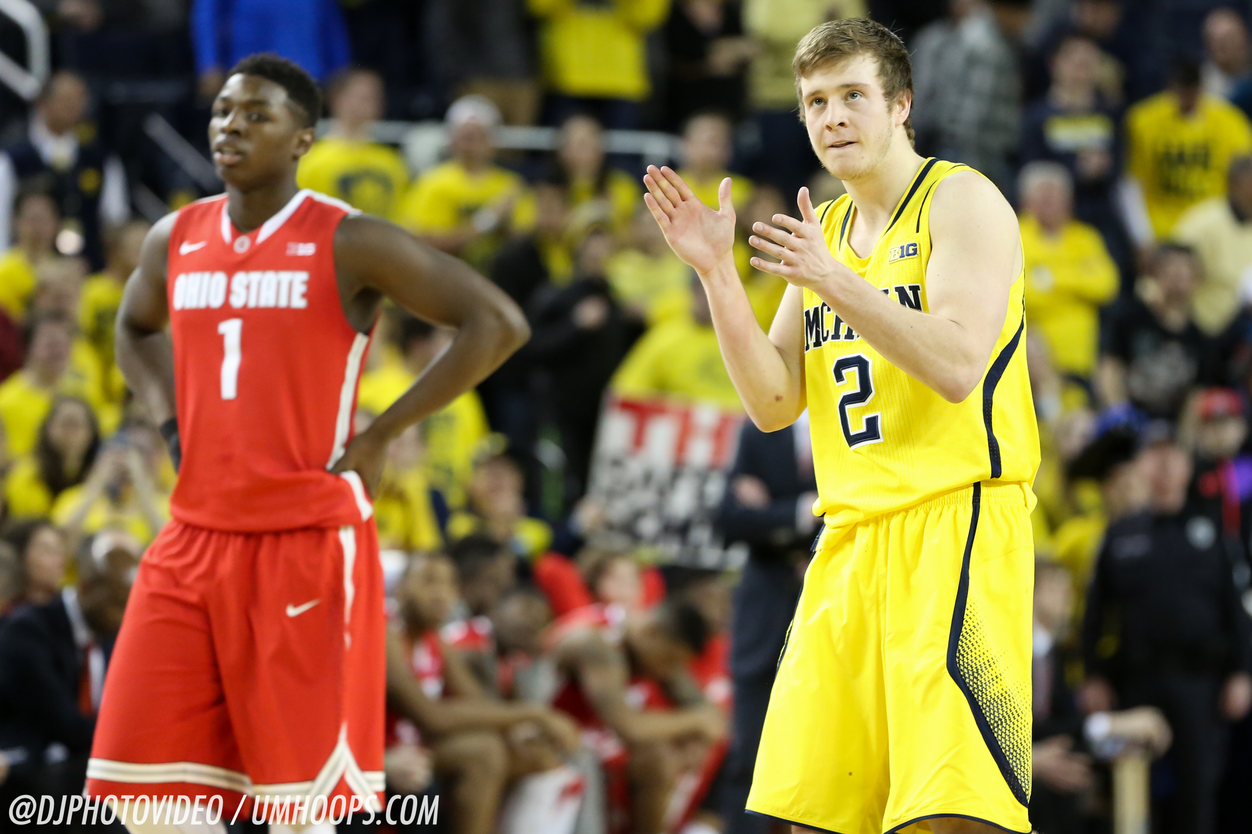 Michigan 64, Ohio State 57-30