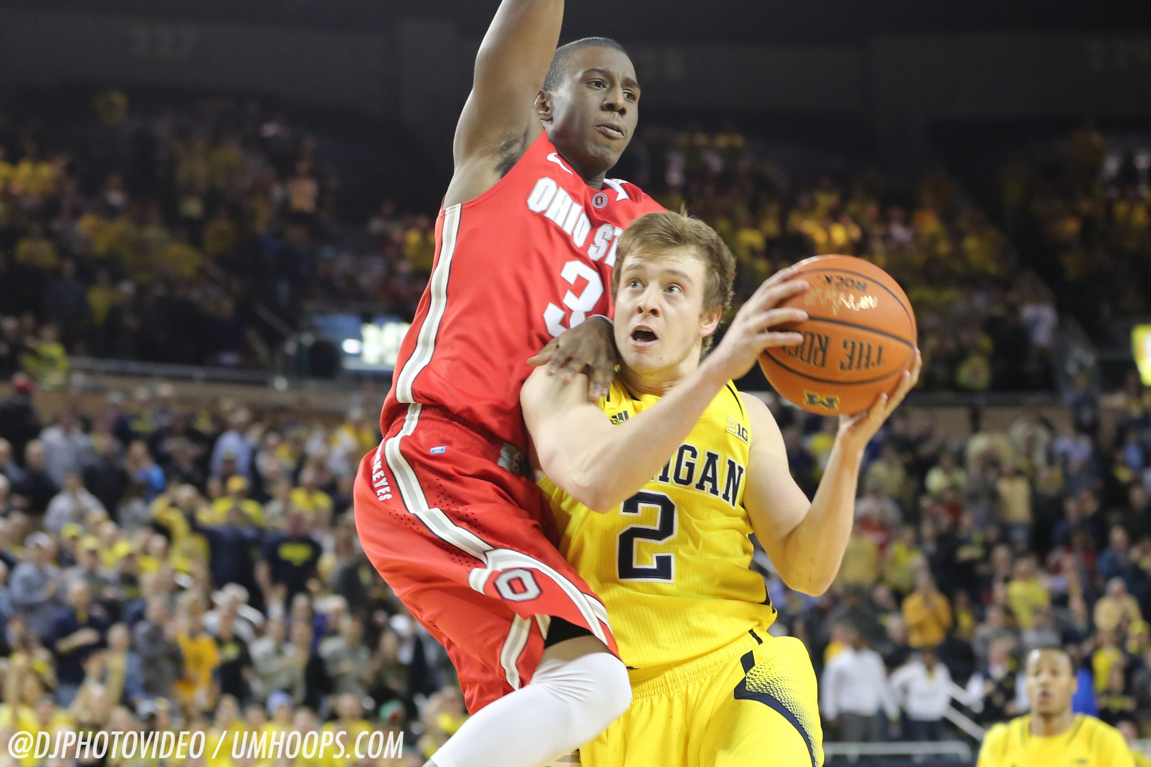 Michigan 64, Ohio State 57-27