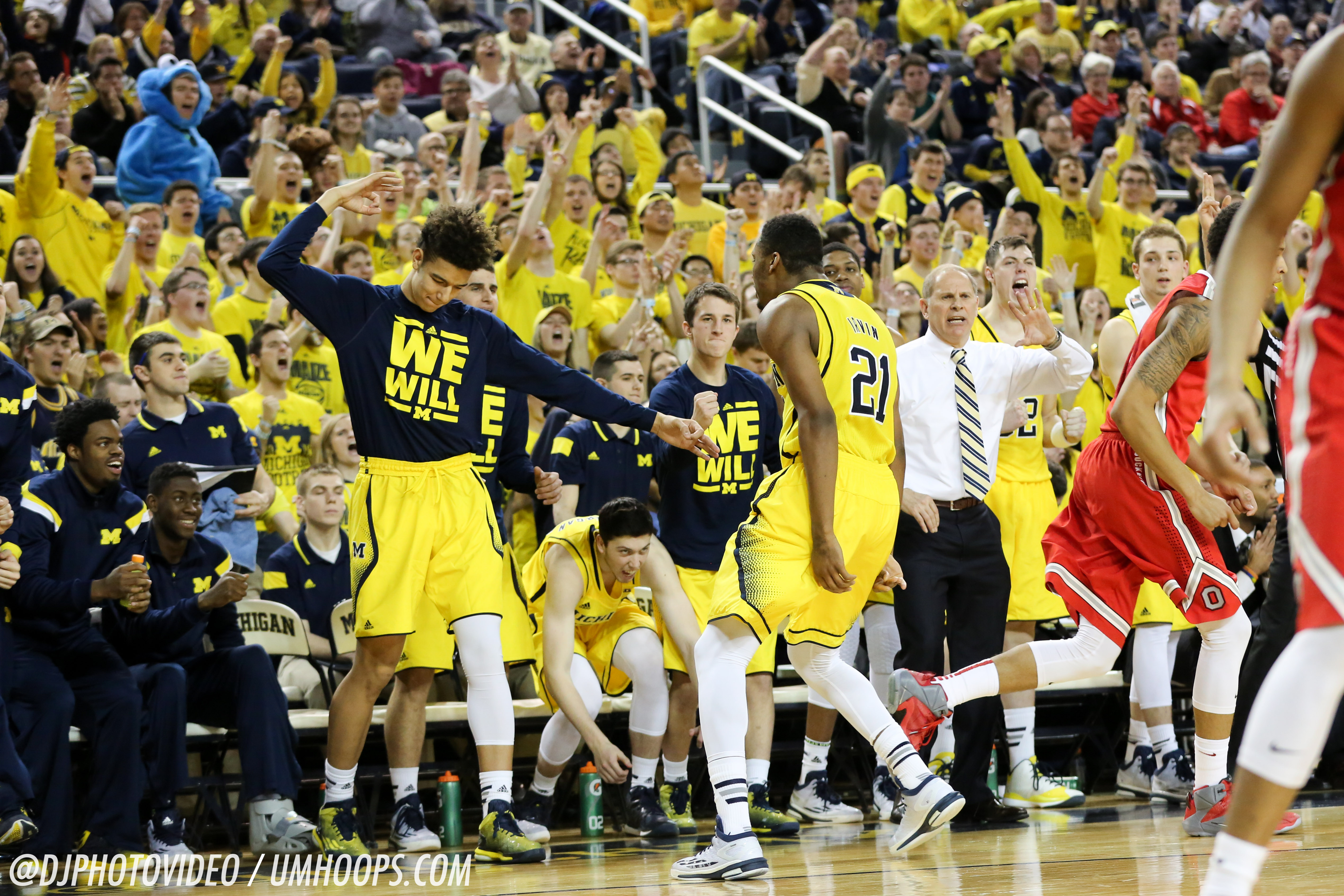 Michigan 64, Ohio State 57-22