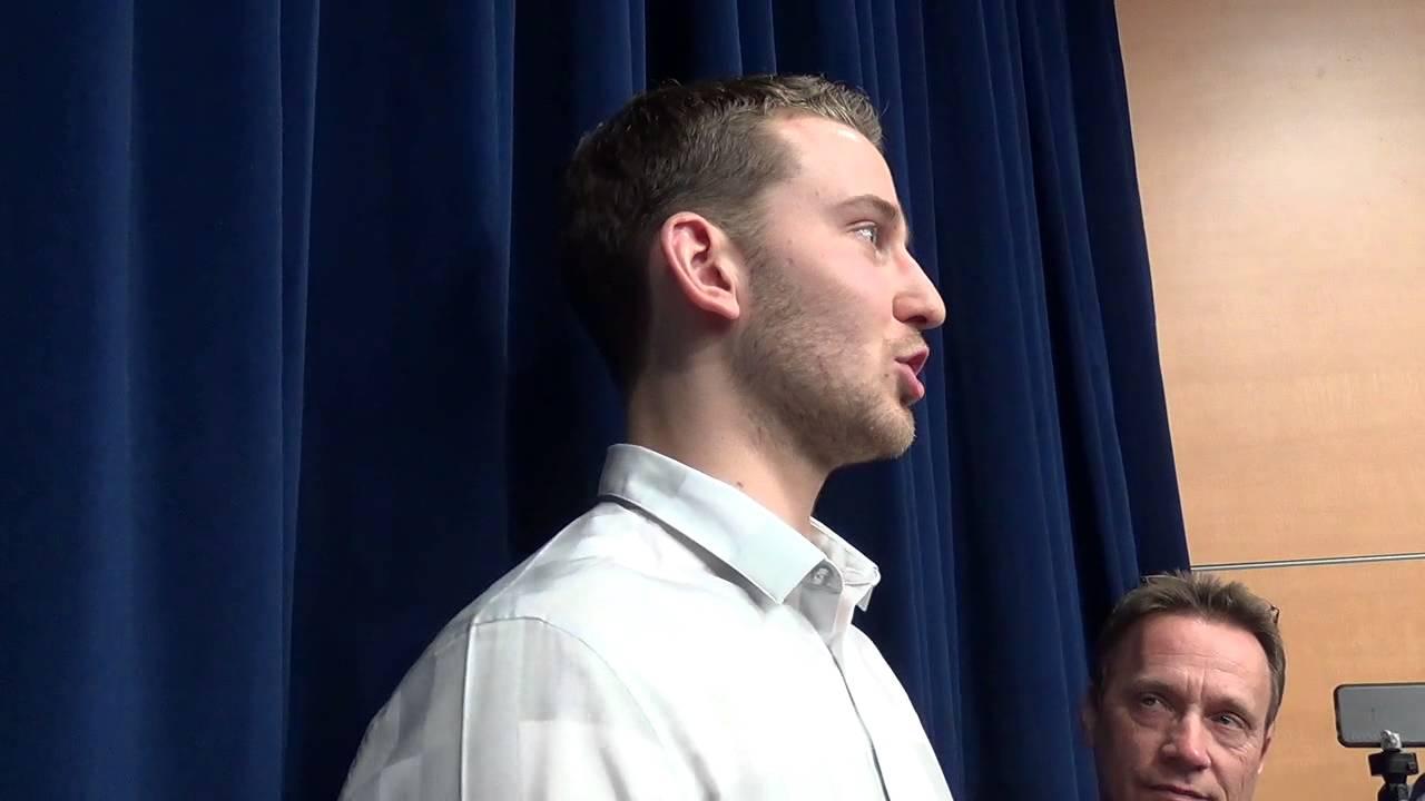 Nik Stauskas, Glenn Robinson III and Jordan Morgan share reactions to rookie seasons