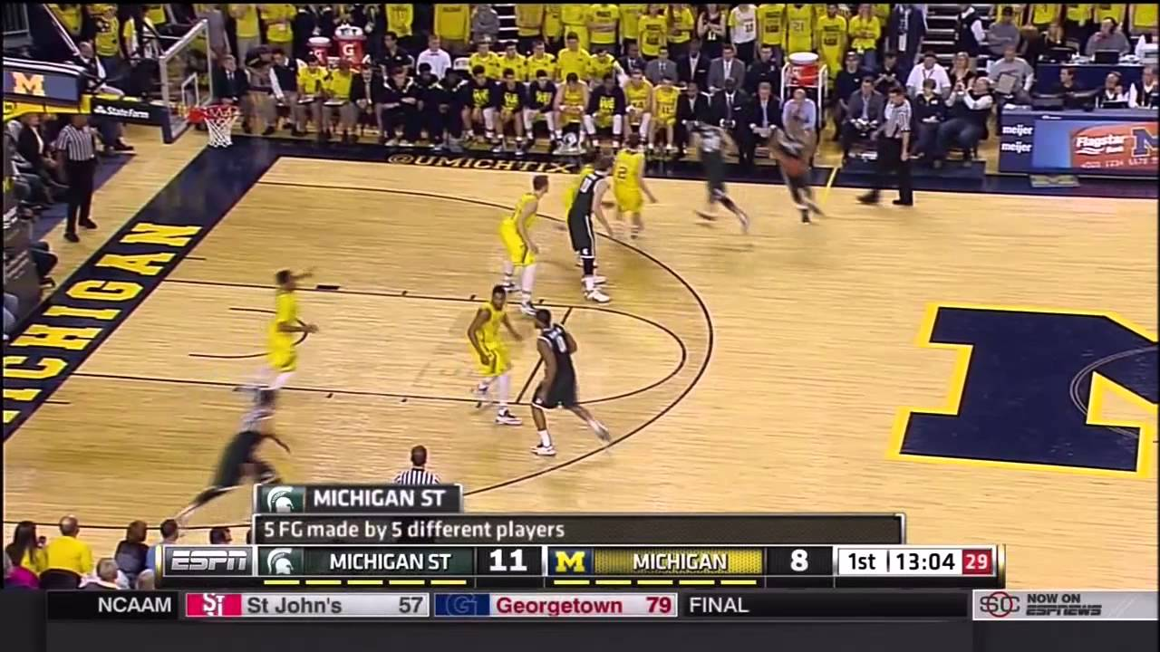 Michigan State 5 Key Plays