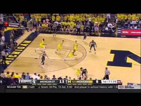 Five Key Plays: Michigan State at Michigan
