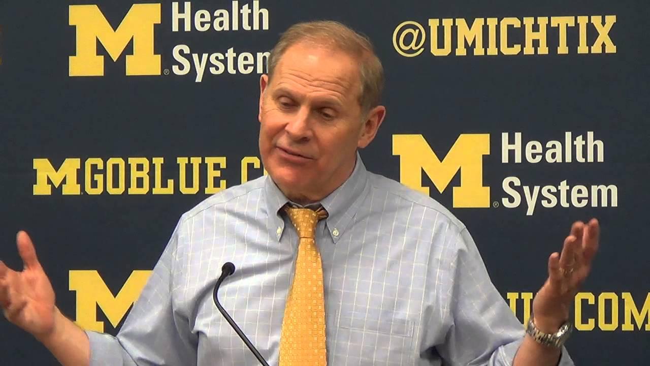 John Beilein recaps home loss to Michigan State