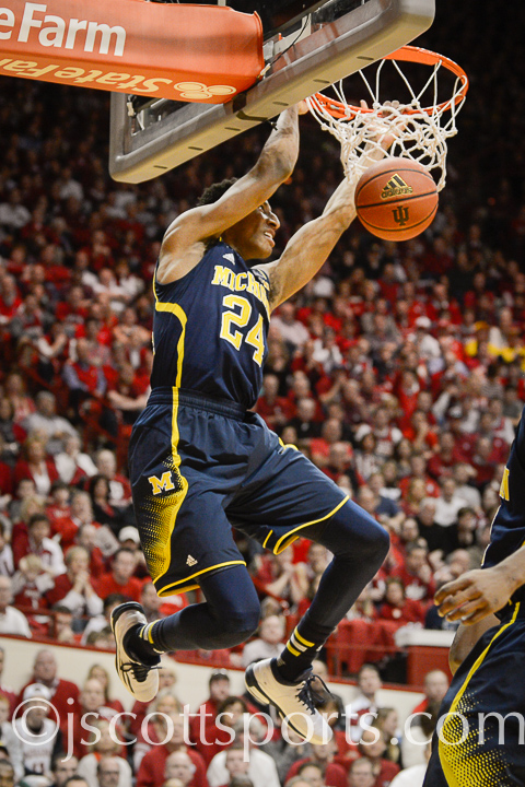 Indiana 70, Michigan 67 – #8