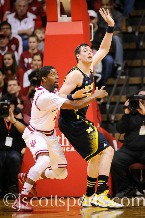 Indiana 70, Michigan 67 – #1