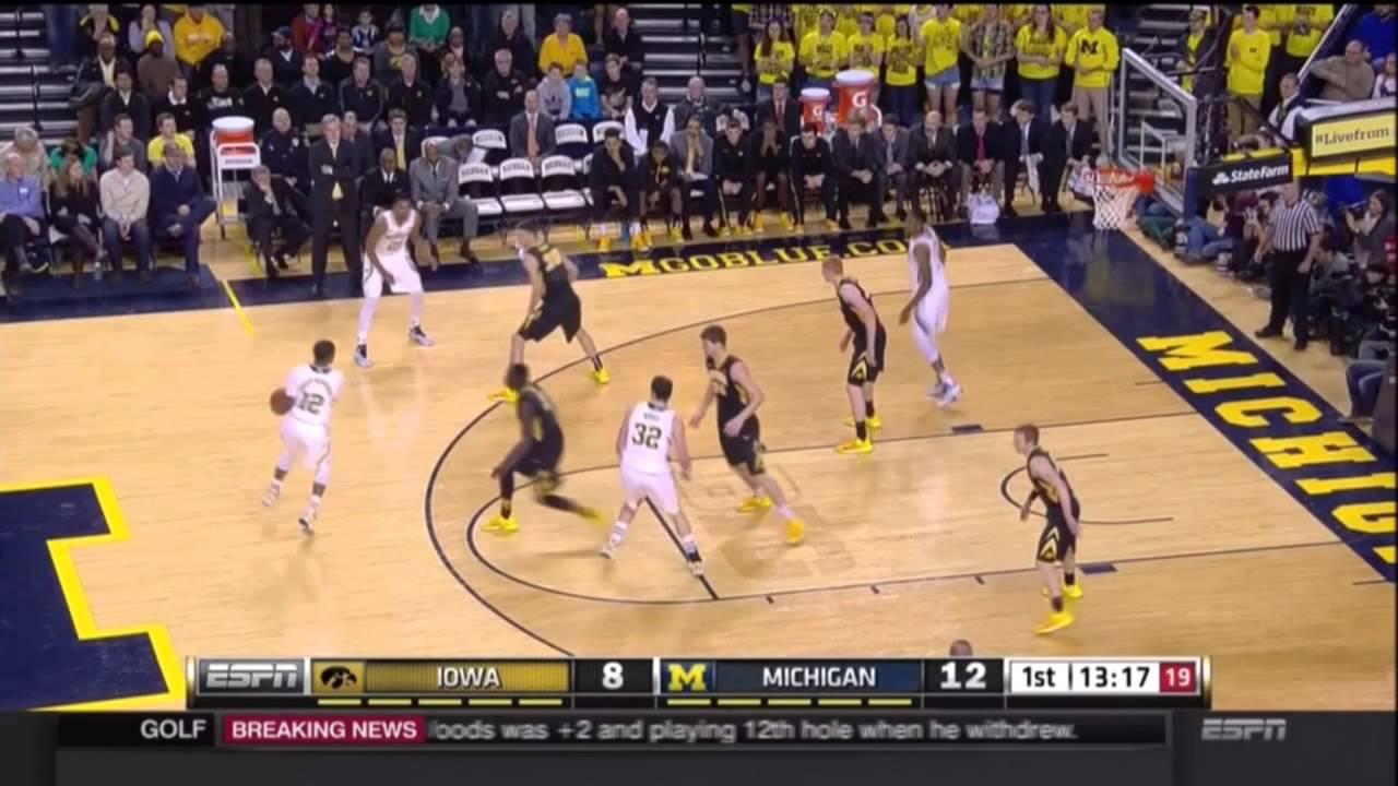Five Key Plays: Iowa at Michigan