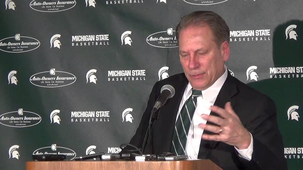 Tom Izzo discusses rivalry win over Michigan
