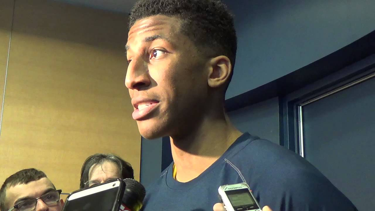 Video: Aubrey Dawkins, Max Bielfeldt discuss career performances against Rutgers
