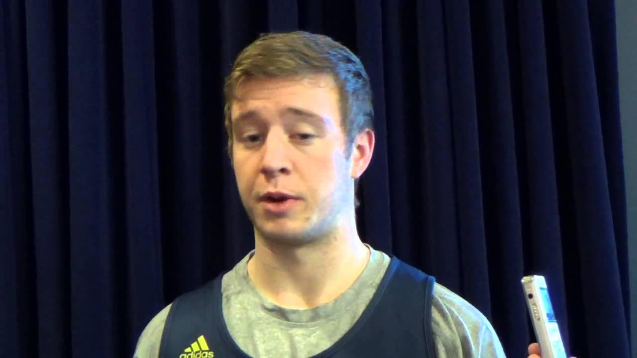 Video: John Beilein, Spike Albrecht and Max Bielfeldt preview Northwestern