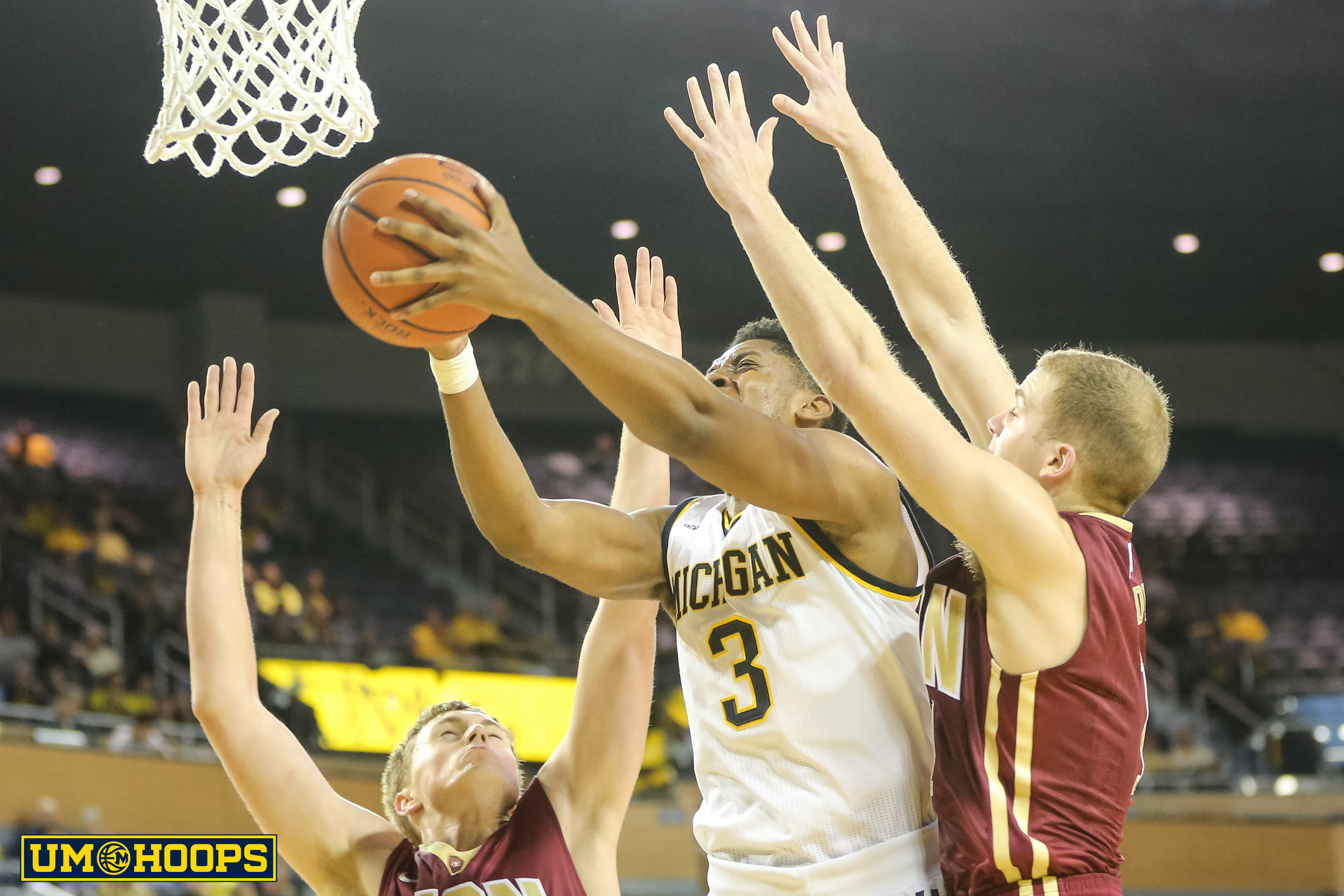 Michigan 88, Elon 68-19
