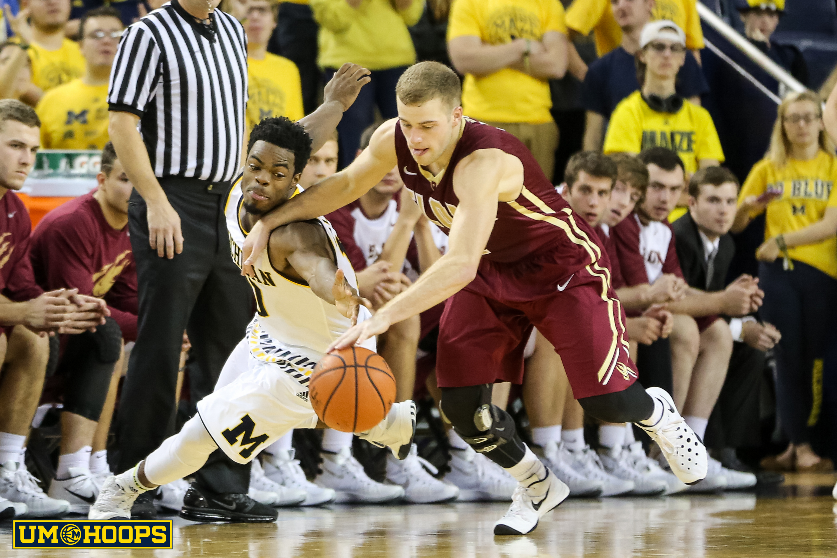 Michigan 88, Elon 68-13
