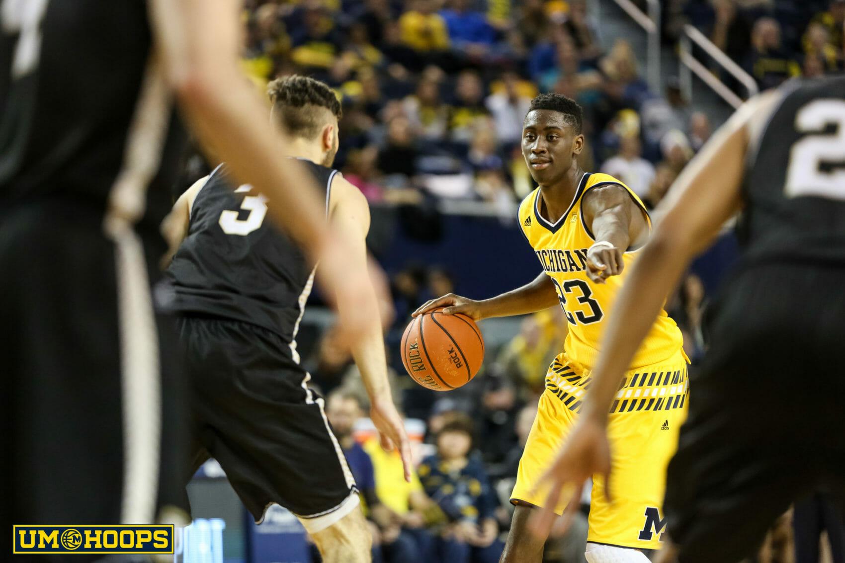 Michigan 96, Bryant 60-22