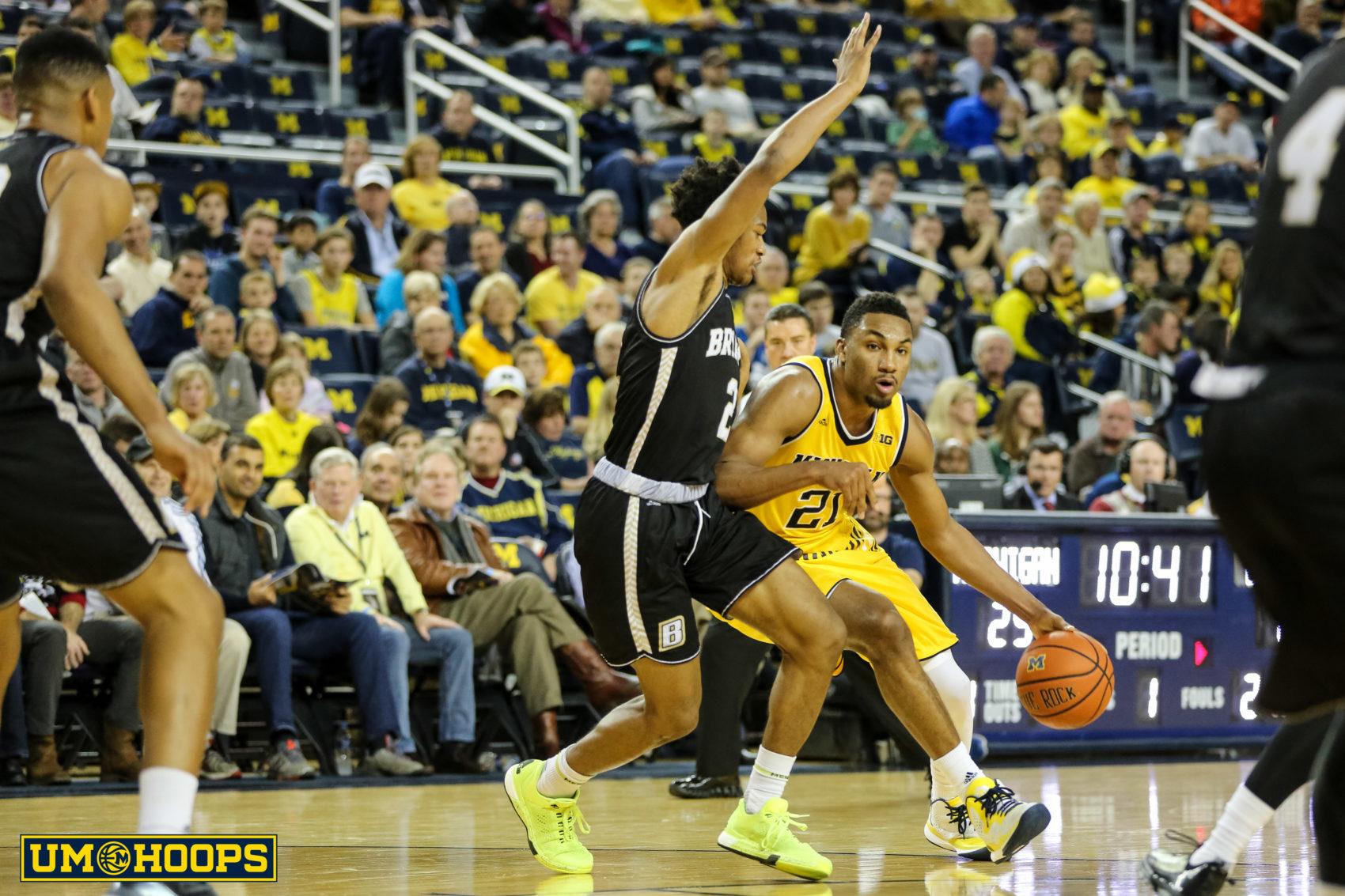 Michigan 96, Bryant 60-10