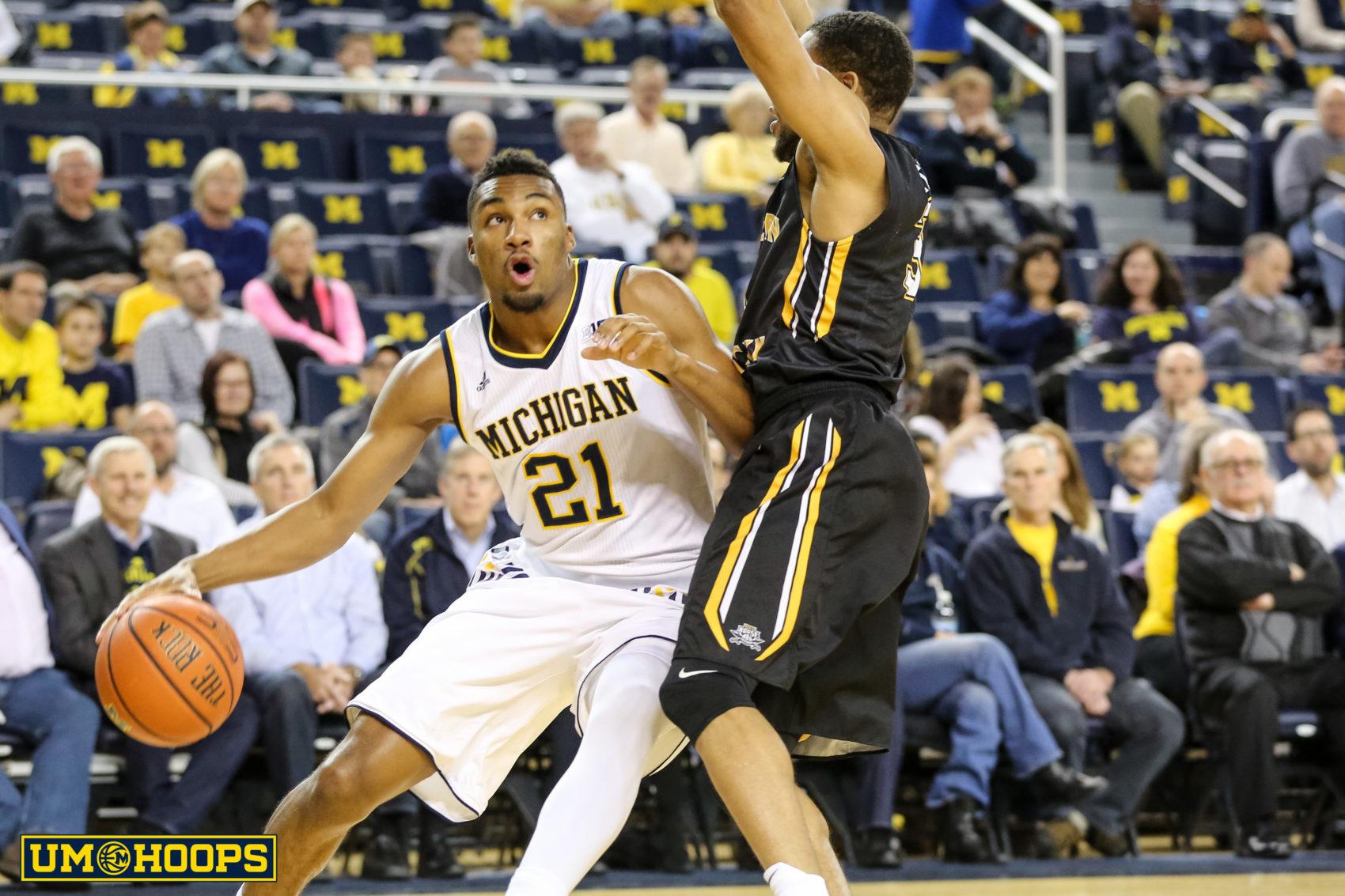 Michigan 77, N Kentucky 62-5