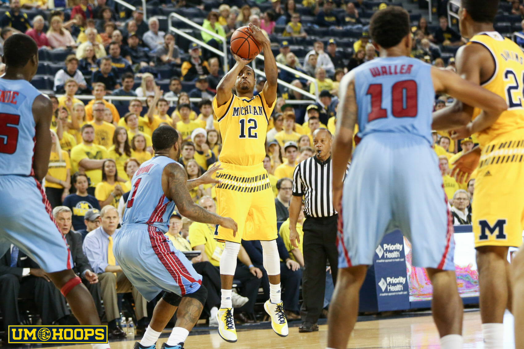 Michigan 80, Delaware State 33-29