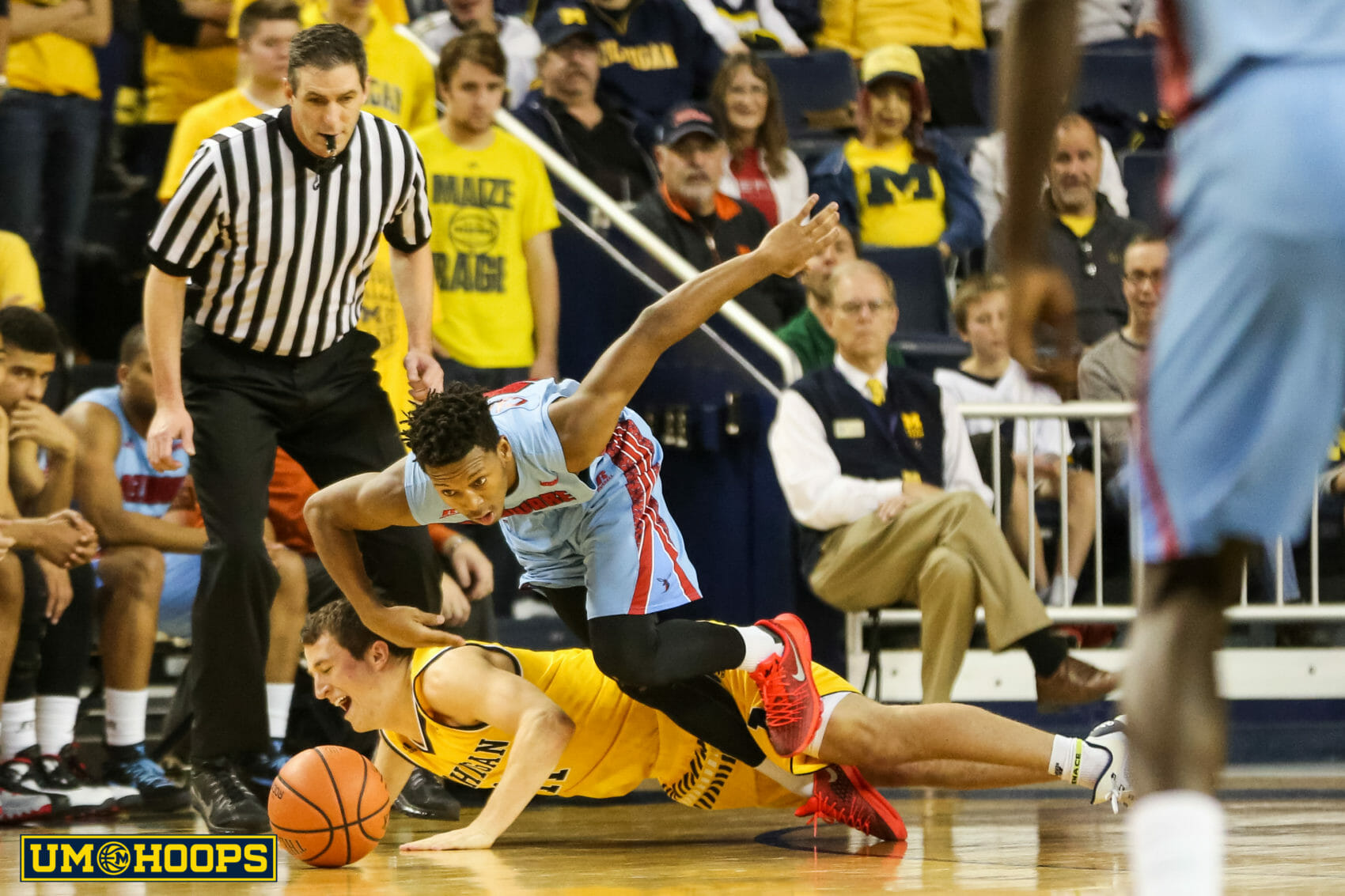 Michigan 80, Delaware State 33-25
