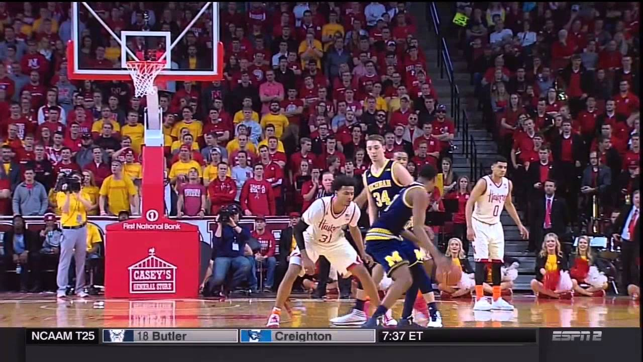 Five Key Plays: Michigan 81, Nebraska 68