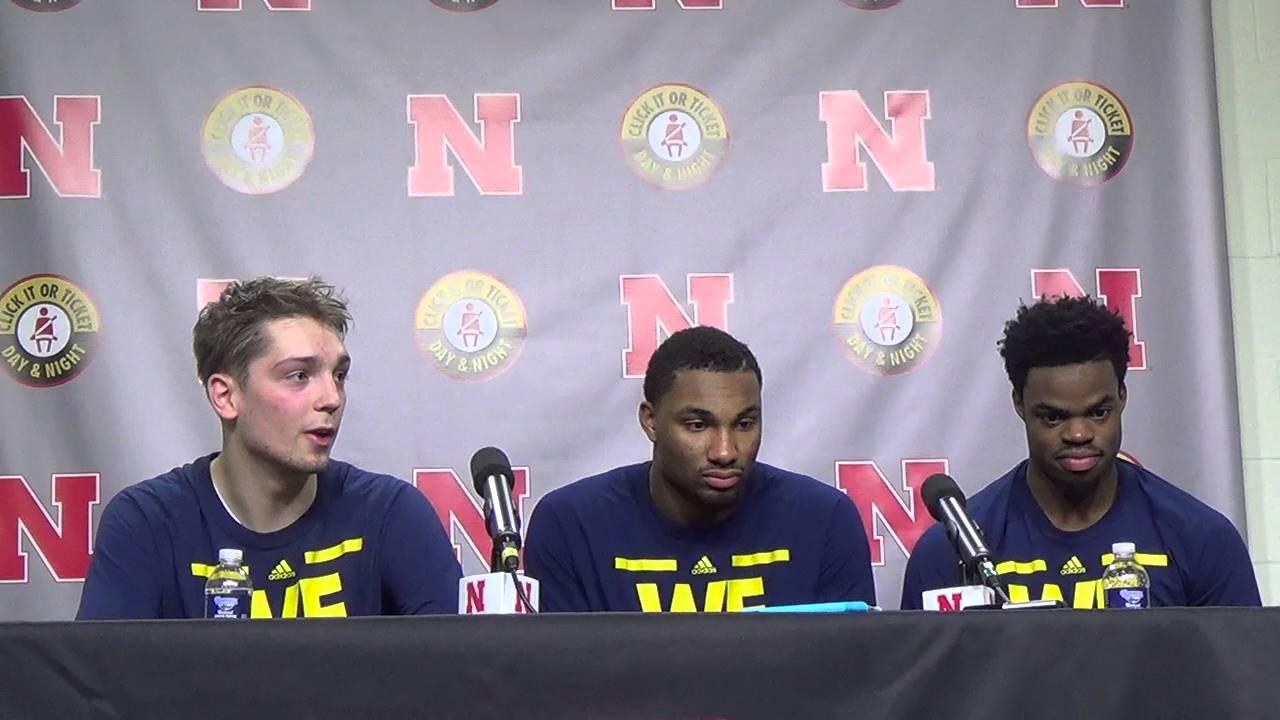 Michigan-players-recap-win-at-Nebraska