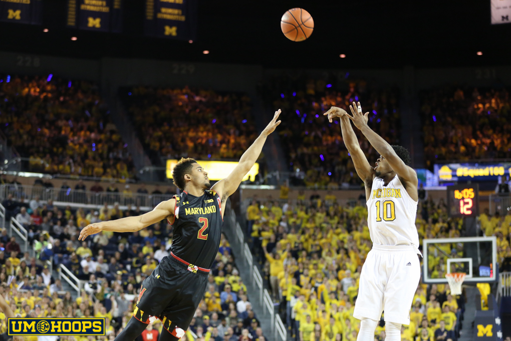 Michigan 70, Maryland 67-17