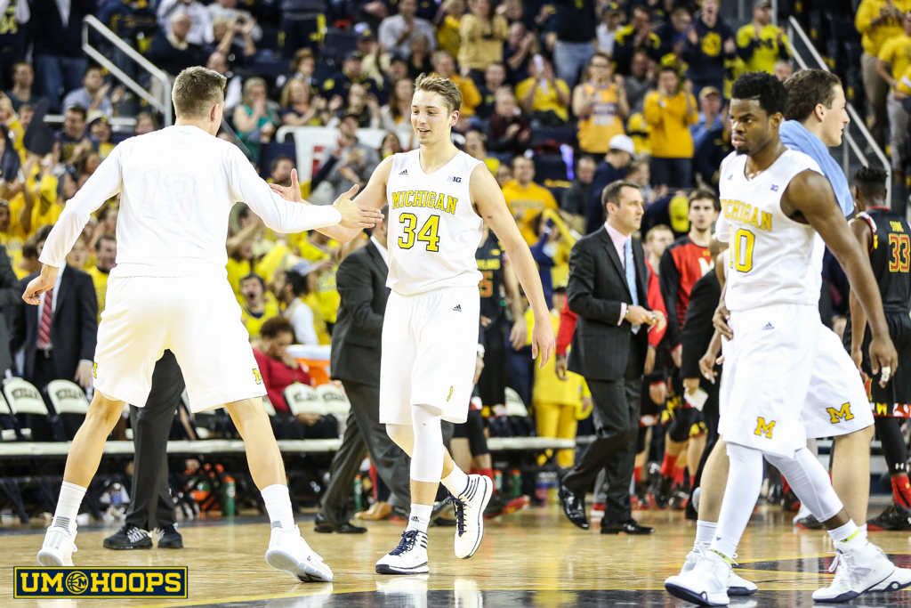 Michigan 70, Maryland 67-12