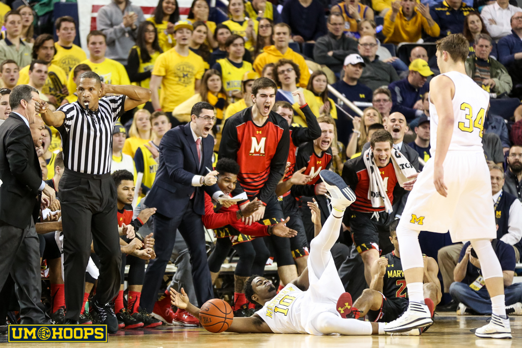 Michigan 70, Maryland 67-6