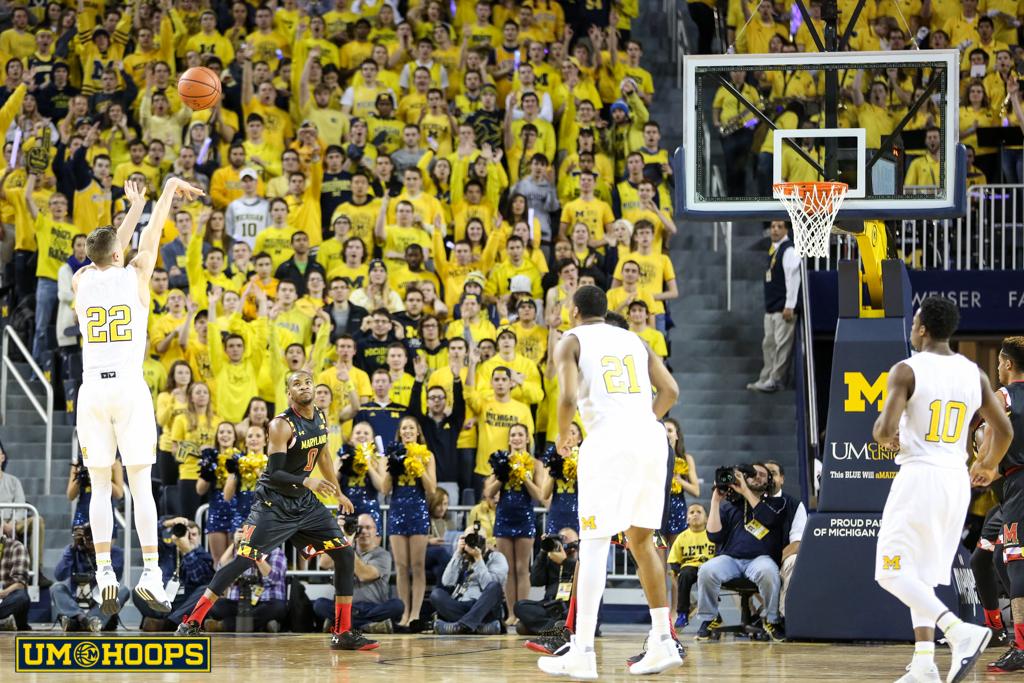 Michigan 70, Maryland 67-3