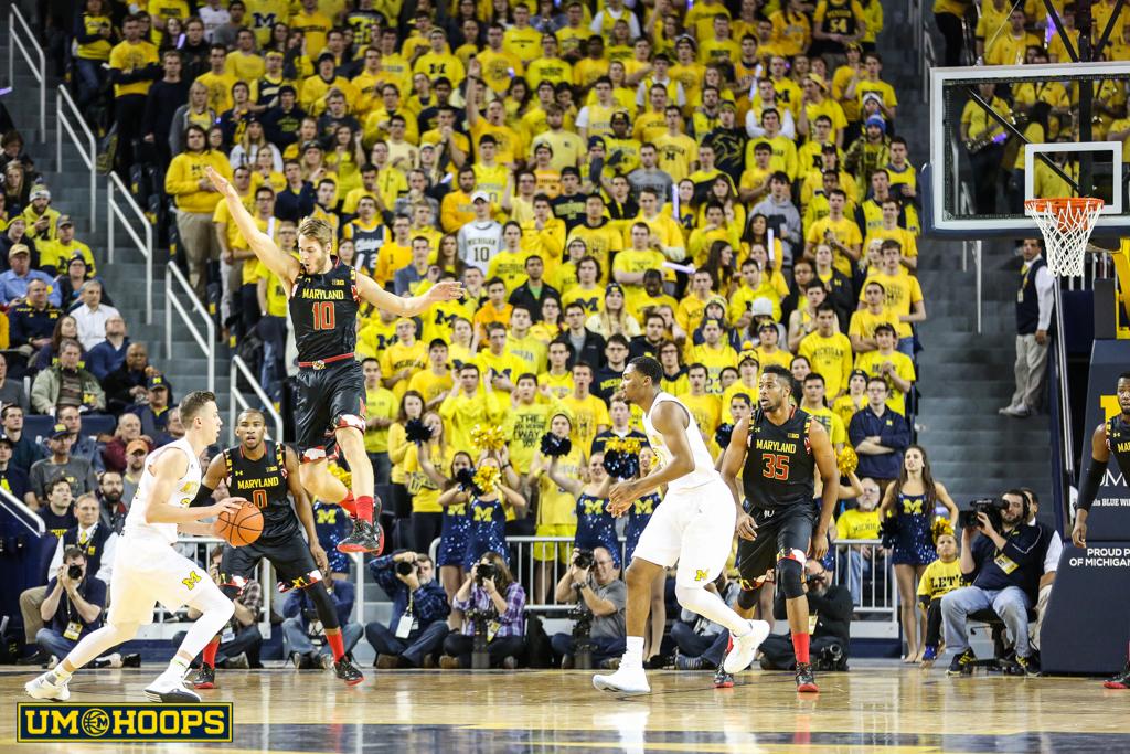Michigan 70, Maryland 67-2