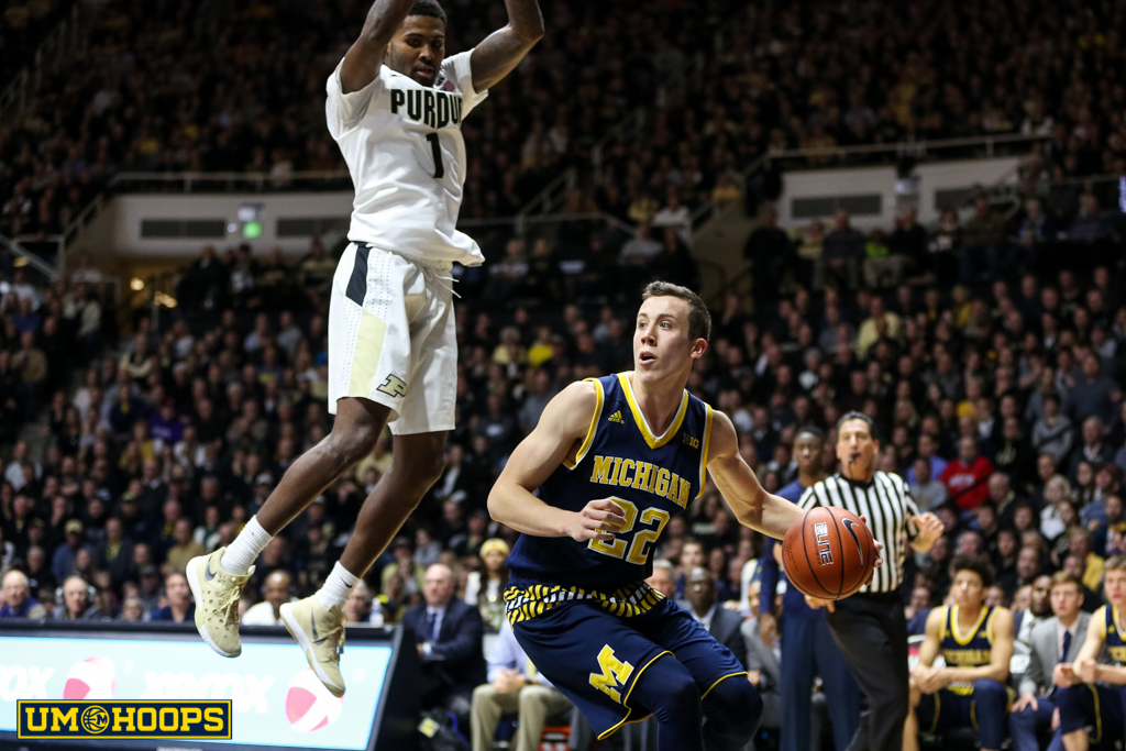 Purdue 87, Michigan 70-23