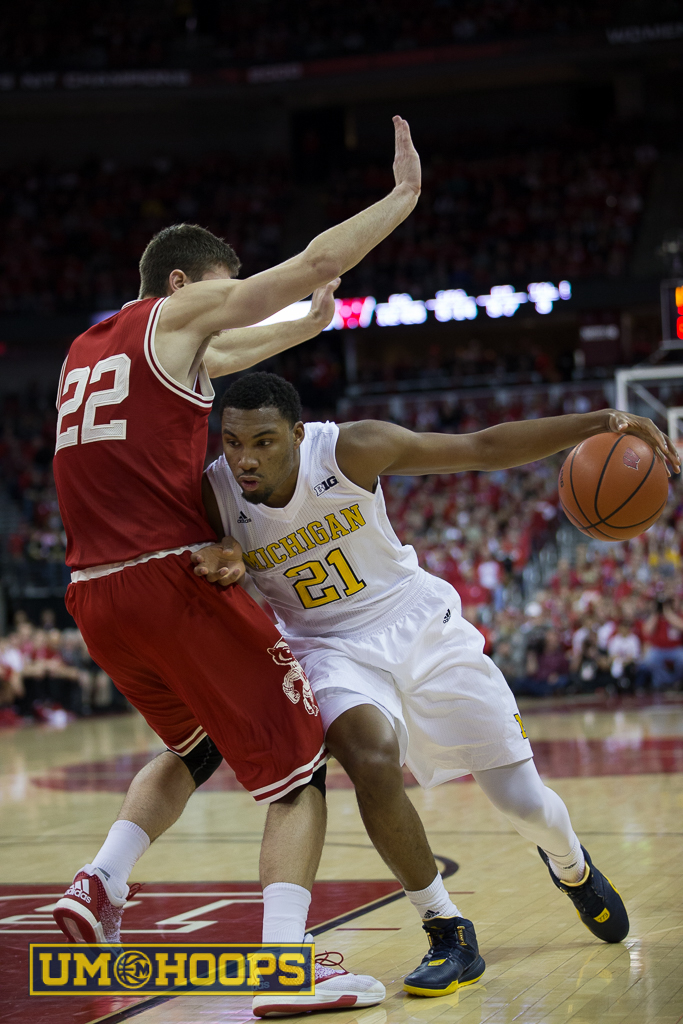 Wisconsin 68, Michigan 57  (14 of 25)