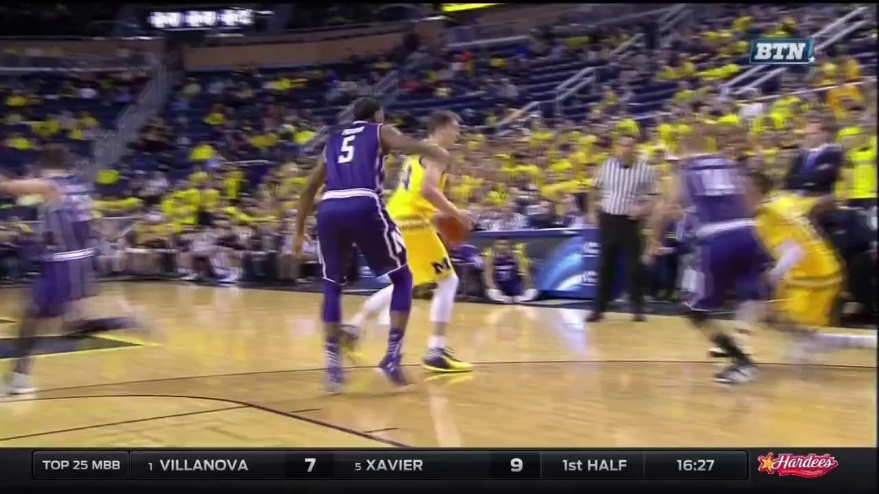Five Key Plays: Michigan 72, Northwestern 63