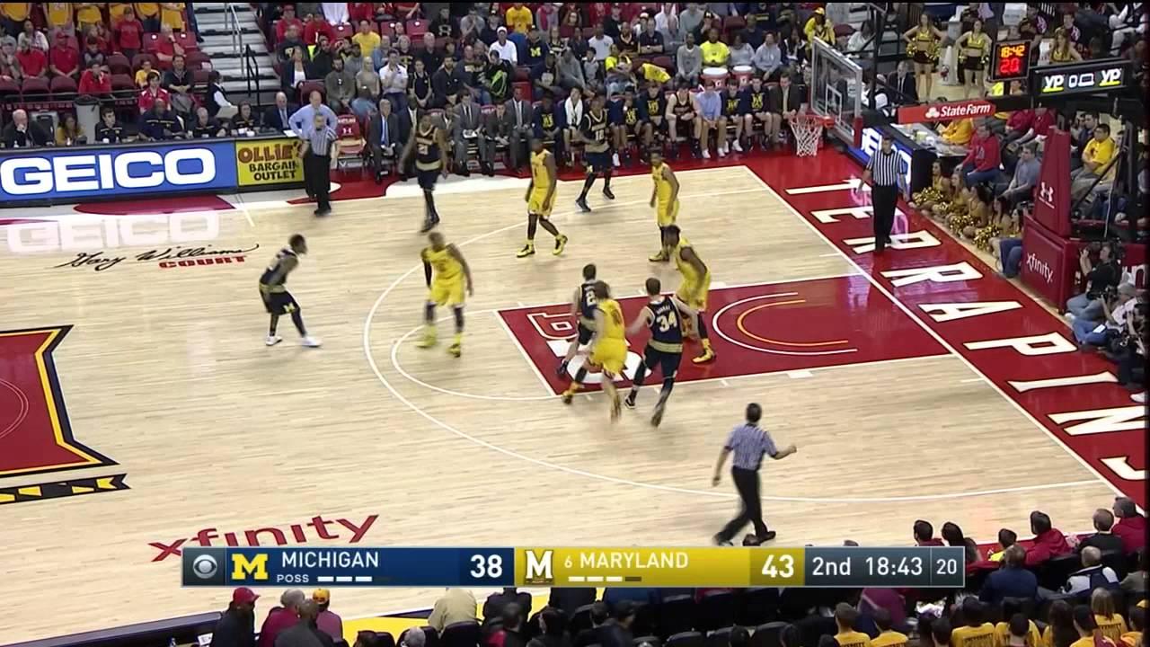 Five Key Plays: Maryland 86, Michigan 82