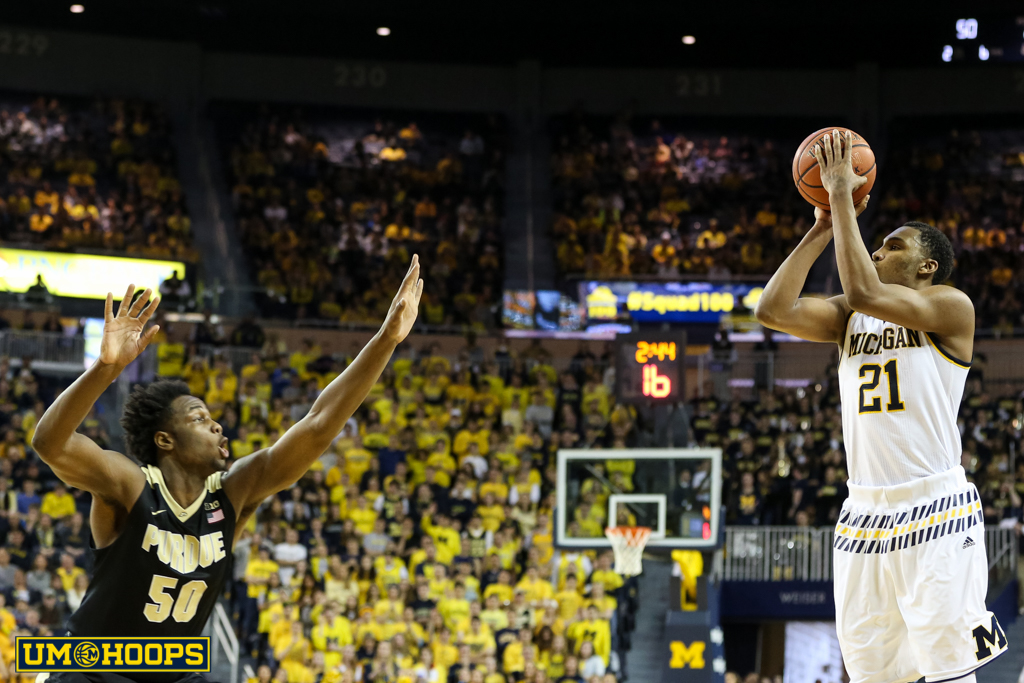 Michigan 61, Purdue 56-24