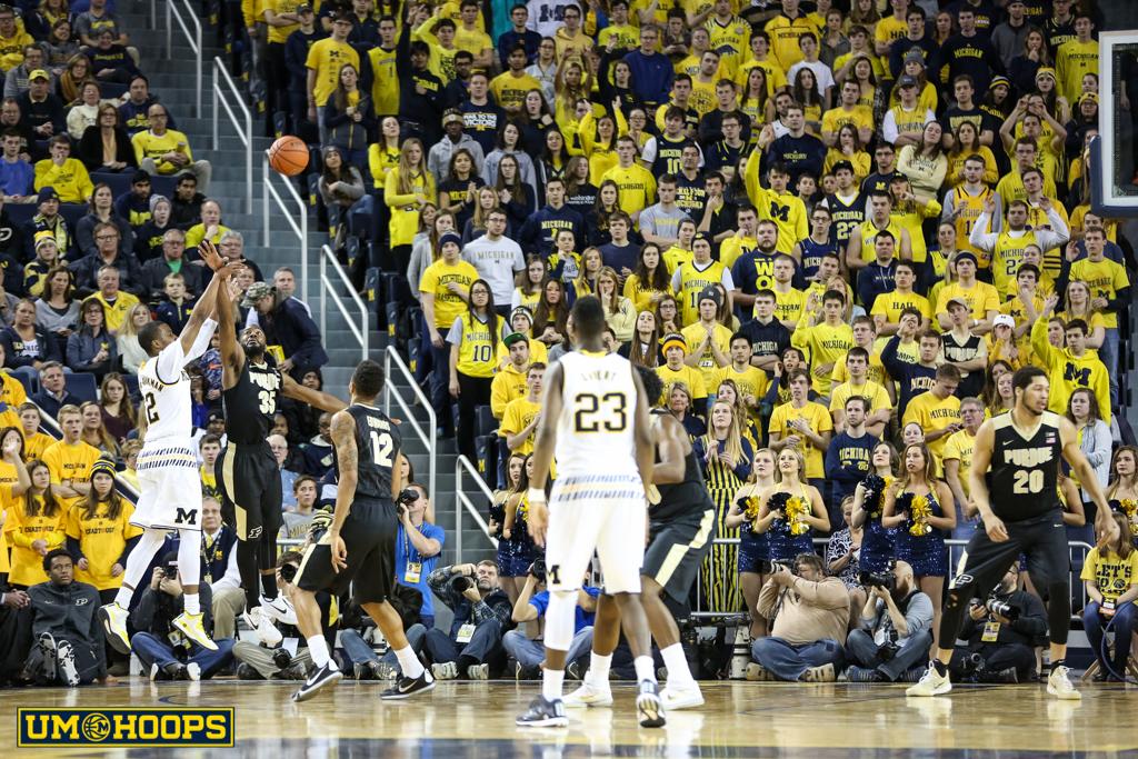 Michigan 61, Purdue 56-8