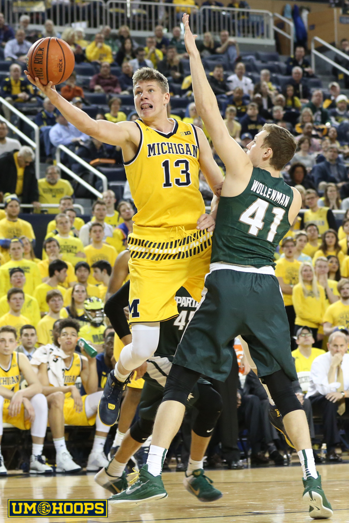 Michigan State 89, Michigan 73-27