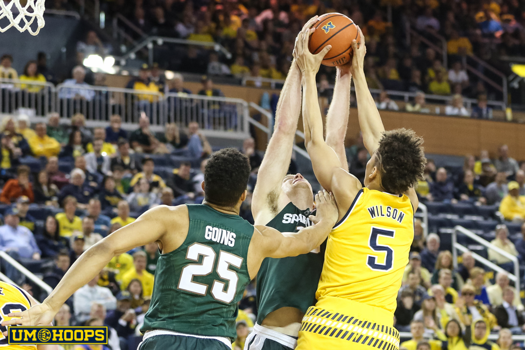 Michigan State 89, Michigan 73-24