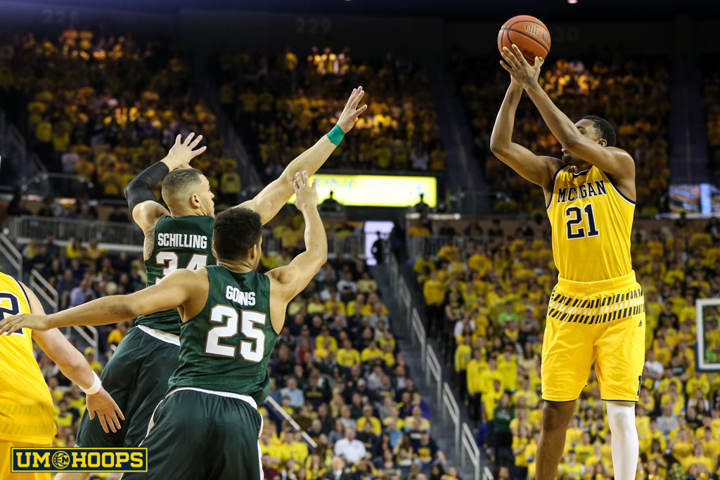 Michigan State 89, Michigan 73-21