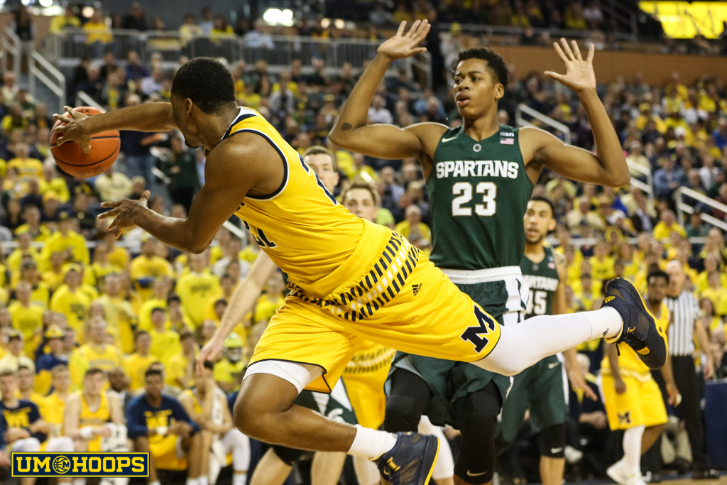Michigan State 89, Michigan 73-20