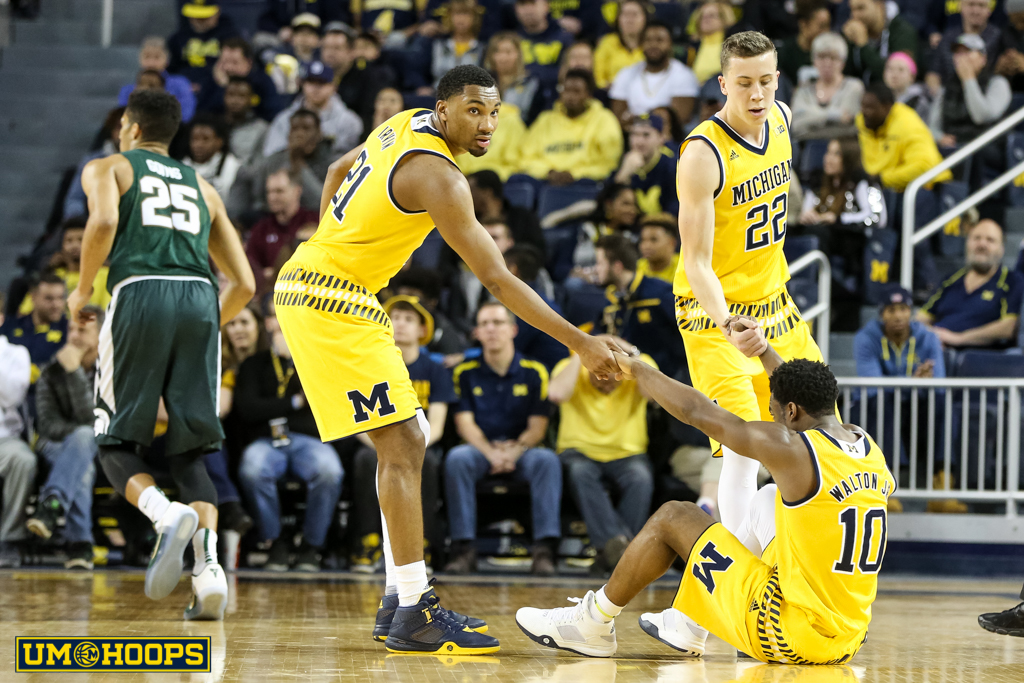 Michigan State 89, Michigan 73-19