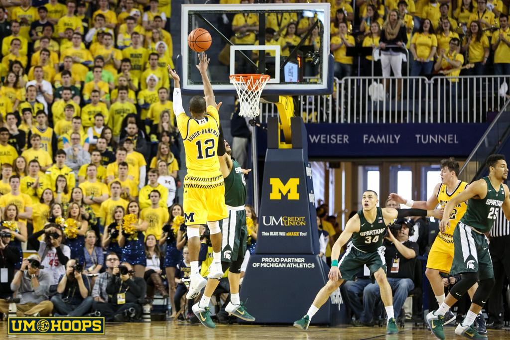 Michigan State 89, Michigan 73-8