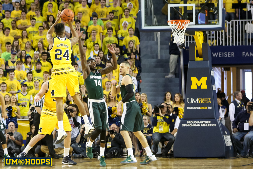 Michigan State 89, Michigan 73-9
